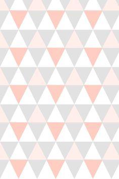 linda paleta de cores e pattern