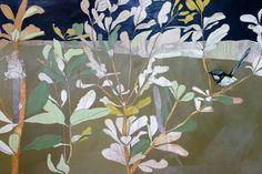 Dana Kinter.~ Birds Painting, Art Prints, Watercolor Art, Artist Inspiration, Botanical Art, Tree Collage, Painting, Art File, Contemporary Art