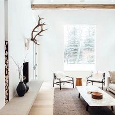 Rustic minimalism