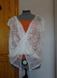 Blusa fácil con 2 cuadrados de tela