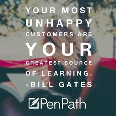 Learn from your mistakes by following the money. Don't complain about things that don't go your way, and especially don't ignore what users tell you. penpath.com