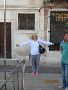 Carey Lovelace in Venice! #careylovelace