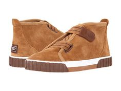 UGG Mycah Suede HiTops - the perfect boy shoe for fall