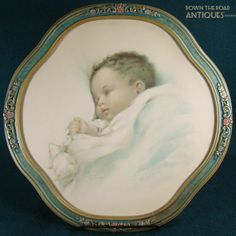 Bessie Pease Gutmann Lithograph -- Baby Asleep from dtrantiques on Ruby Lane