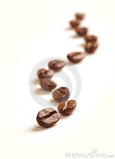 Coffee Beans draw a zigzag line.