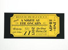 Vecchia Hollywood Art Deco Red Carpet film oro di brighteyedbirdie