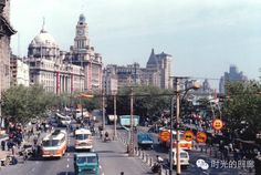 Shanghai image in early 1980s.