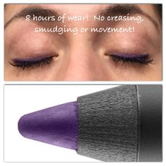 I'm getting a little obsessed with this purple!  Love how amazing these Precision Liners are!  All day wear ladies!!!  www.3dlashwow.com