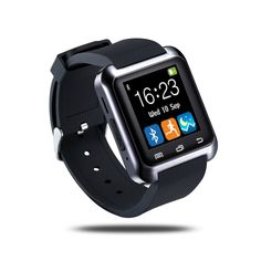 Trait-Tech Bluetooth Capacitive Touch Screen Health Wristwatch Smart Watch Phone for Smartphones IOS Android Apple iphone Puls Android Samsung Note 3 Note 4 HTC Sony (Black) Apple Iphone 5, Iphone 4, Ios Phone, Wrist Watch Phone, Watch For Iphone, Hand Watch, Smartwatch Bluetooth, Bluetooth Watch, Android Wear