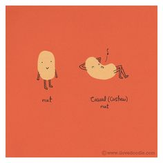 Casual nut by ILoveDoodle, via Flickr