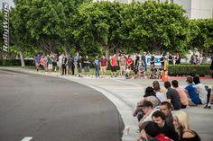 Cars and Coffee Irvine Crowd - Photo Shooting Cars for Fun on RallyWays.com | #rallyways #carphotos #carsandcoffee