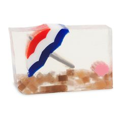 Life's a Beach Bar Soap by Primal Elements. Relax and enjoy the juicy fruit goodness swimming in vanilla and musk.