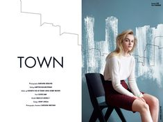 Stories Collective / Town / Photography Karoliina Barlund / Styling Aartthie Mahakuperan / Hair Oliver Daw / Model Grace at Models 1 / Design Jenny Jokela / Photography Assistant Carolina Nikotian #fashion #edutorial #layout #design #illustration #graphic #town