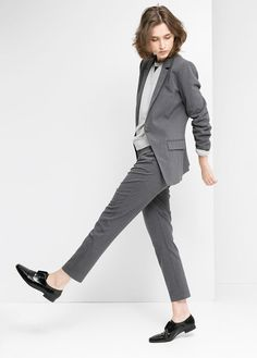 Trendy Work Attire & Office Outfits For Business Women Classy Workwear for Professional Look « letterformat. Business Dress, Business Mode, Business Outfits, Business Fashion, Business Style, Androgynous Fashion, Tomboy Fashion, Office Fashion, Work Fashion