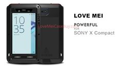 Love Mei Powerful Sony Xperia X Compact Protective Case