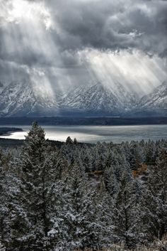 Jackson Lake Light, Grand Teton National Park, Northwestern Wyoming, by Eamon Gallagher, on 500px.com
