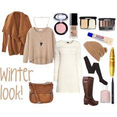 Winter look #2 by rinanuramalina on Polyvore