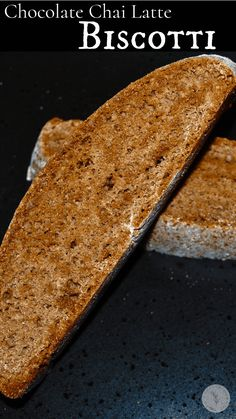 Chocolate Chai Latte Biscotti made with cocoa, cinnamon and nutmeg is a deliciously flavorful, Italian cookie that's perfect for dunking. Kitchen Recipes, Snack Recipes, Dessert Recipes, Snacks, Cocoa Cinnamon, Biscotti Recipe, Italian Cookies, Recipe Boards, Latest Recipe