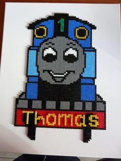 Thomas de trein, voor de eerste verjaardag van neefje Thomas