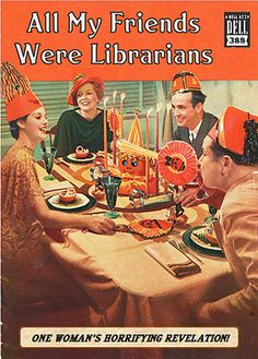 BOOKTRYST: The Shocking Hard-Boiled World Of Librarians!