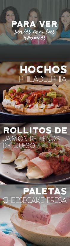 Una noche de series con tus roomies se disfruta más con estas recetas, ¡pruébalas!  #recetas #receta #quesophiladelphia #philadelphia #crema #quesocrema #queso #comida #cocinar #cocinamexicana #recetasfáciles #hochos #botanas #recetasbotanas