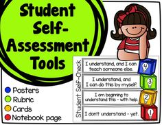 Teach+your+students+to+assess+their+own+learning+with+these+self-assessment+tools!++These+tools+are+based+on+Marzano's+levels+of+understanding.Studies+show+that+students+who+are+partners+in+their+own+assessment+show+increased+engagement+in+all+subject+areas,+and+are+more+likely+to+become+lifelong+learners.