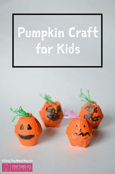 DIY halloween crafts for the kiddos! Cute idea and easy tutorial.