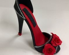 PDF Tutorial and Pattern Fondant High Heel Fondant Shoe