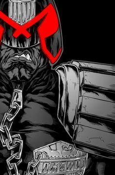 Dredd by SebastianvonBuchwald.deviantart.com