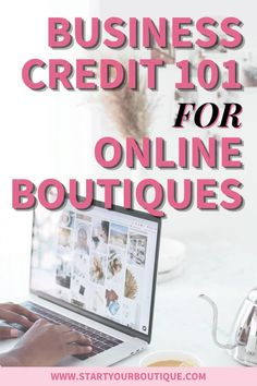 You can use business credit to get the financing you need to start or scale your online boutique. But...you need a plan! With Business Credit 101 you'll be able to follow the steps necessary to get money you need. And best of all, it's completely separate from your personal credit score. For instant access, sign up now! Small Business Accounting, Accounting Software, Need Money, How To Get Money, Winning The Lottery, Instant Access, Credit Score, Online Boutiques, How To Know