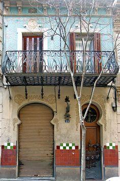 Barcelona - Blasco de Garay - Casa Montserrat Gili