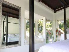 bedroom at New Moon Villa, Ubud