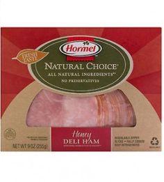 These varieties - roast beef, honey deli turkey, honey deli ham (Amelia isn't crazy about any of them, though.)