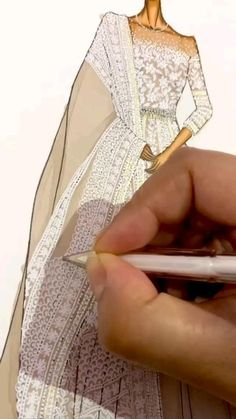 Fashion Illustration Tutorial, Fashion Illustration Collage, Fashion Drawing Tutorial, Dress Illustration, Fashion Illustration Dresses, Dress Design Drawing, Dress Design Sketches, Fashion Design Sketchbook, Fashion Design Drawings