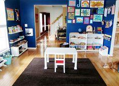 How to Set Up a Montessori Homeschool Classroom | LivingMontessoriNow.com