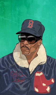 c61d3cd9ec8f This illustration of Oil Can Boyd by Brendan Lynch is kind of amazing. Old  Baseball