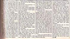 Groucho Marx interview from The Sunday Times Magazine, March 1974.