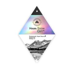House.Snow Girl - Swing Tag & Label on Behance