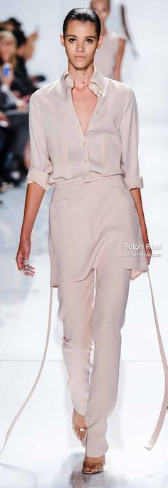 Ralph Rucci Spring 2014 New York Fashion Week » #NYFW