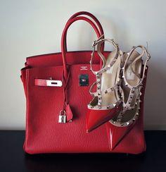 Valentino #rockstar #red