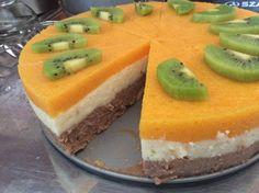 Sütés nélküli tejbegríztorta Cheesecake, Clean Eating, Food And Drink, Pudding, Eat Healthy, Healthy Nutrition, Cheesecakes, Custard Pudding, Puddings