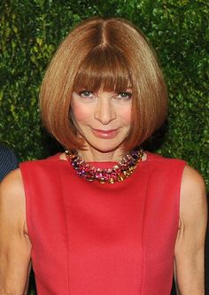 Anna Wintour's Vogue bob - one of 12 of the most powerful hairstyles of all time
