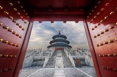 The amazing Temple of Heaven in Beijing. Millions of Chinese people make a pilgrimage here each year. I was lucky enough to get in an hour before the public to privately take photos. What a place! #treyratcliff More on my blog at http://ift.tt/qCe472