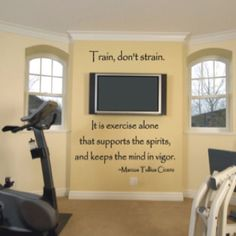 Exercise Room Workout Decor Home Gym At