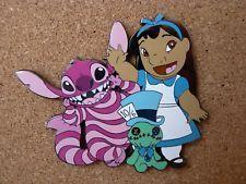 Stitch as Alice in Wonderland Disney Stitch Tattoo, Disney Stitch Pins, Disney Tattoos, Disney Pins Sets, Disney Trading Pins, Lilo Stitch, Disney Fun, Disney Trips, Broches Disney
