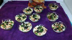 7 layer mini dips 7 Layers, I Foods, Dips, Mexican, Ethnic Recipes, Sauces, Dip