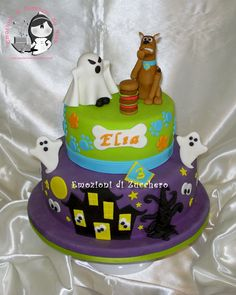 Scooby Doo - All sugar paste
