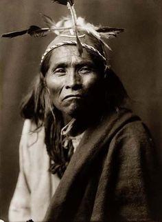 Apache Man, 1906 by Edward S. Curtis