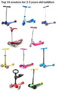 Top 10 First Scooters For 2 To 5 Years Old Toddlers In 2018 From