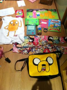 Some of my adventure time merchandise ( not all!)